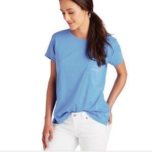 VINEYARD VINES T-Shirt womens light blue whale Top
